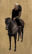Castillian Page mounted