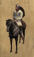 Leonese Jinete mounted