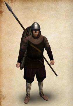 Castillian Veteran Spearman
