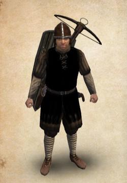Castillian Veteran Crossbowman