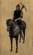 Castillian Mounted Crossbowman mounted