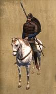 Castillian Jinete mounted