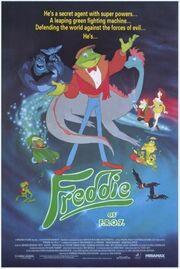Freddie as F.R.O.7 FilmPoster