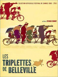 Triplets of Belleville-Poster