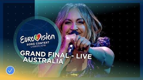 Jessica Mauboy - We Got Love - Australia - LIVE - Grand Final - Eurovision 2018