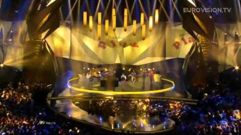 Gianluca - Tomorrow (Malta) - LIVE - 2013 Grand Final