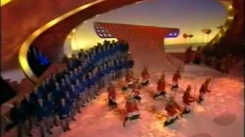 Eurovision 1998 Interval act - Jupiter, The Bringer of Joviality