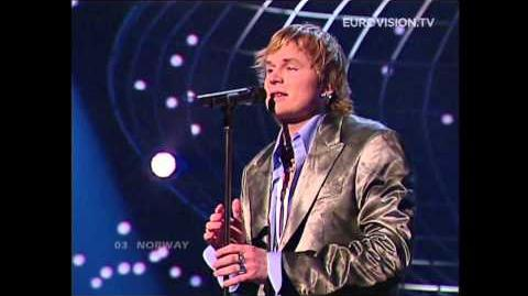 Knut Anders Sørum - High (Norway) 2004 Eurovision Song Contest