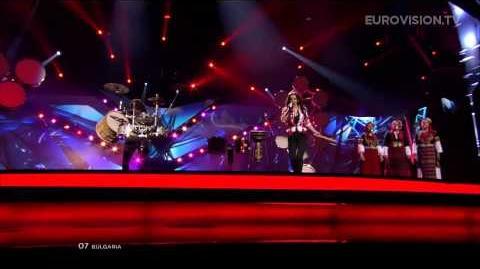 Elitsa Todorova, Stoyan Yankulov - Samo Shampioni - LIVE - 2013 Semi-Final (2)