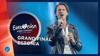 Estonia - LIVE - Victor Crone - Storm - Grand Final - Eurovision 2019
