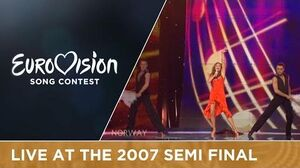 Guri Schanke - Ven A Bailar Conmigo (Norway) Live 2007 Eurovision Song Contest