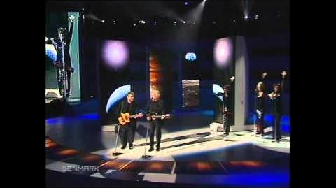2000 Eurovision Denmark - The Olsen Brothers - Fly on the wings of love HQ