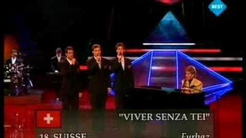 Eurovision 1989 - Furbaz - Viver senza tei