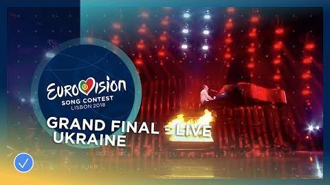 MELOVIN - Under The Ladder - Ukraine - LIVE - Grand Final - Eurovision 2018