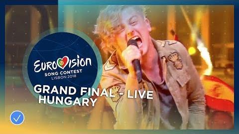 AWS - Viszlát Nyár - Hungary - LIVE - Grand Final - Eurovision 2018