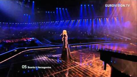 Maya Sar - Korake Ti Znam - Live - Grand Final - 2012 Eurovision Song Contest