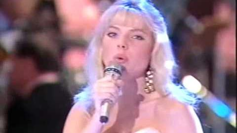 Eurovision 1991 United Kingdom - Samantha Janus - A message to your heart