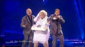 Eurovision 2009 Semi Final 2 19 Netherlands *The Toppers* * Shine* 16-9 HQ