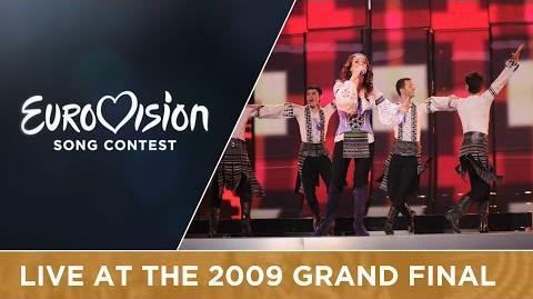 Nelly Ciobanu - Hora Din Moldova (Moldova) Live 2009 Eurovision Song Contest