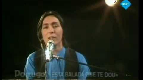 Eurovision Portugal 1983 - Armando Gama - Esta balada que te dou