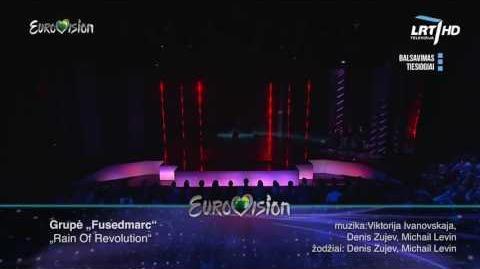 """""""Fusedmarc"""" - """"Rain Of Revoliution"""" Lithuania Eurovision 2017"""