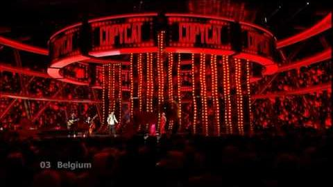 Eurovision 2009 Semi Final 1 03 Belgium *Patrick Ouchene* *Copycat* 16 9 HQ