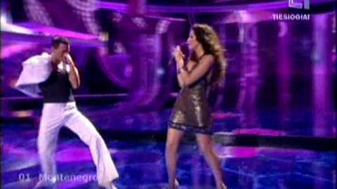 Eurovision 2009 Montenegro-Andrea Demirovic-Just Get Out of My Life