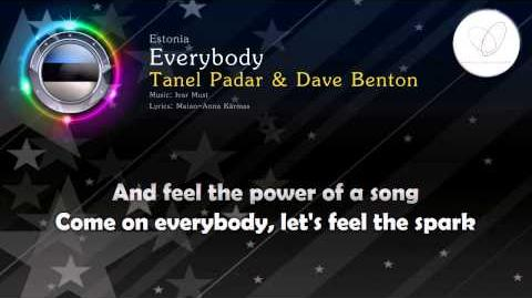 "2001 Tanel Padar & Dave Benton - ""Everybody"" (Estonia)"