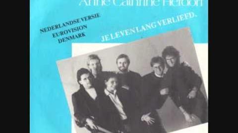 Anne Catrine & Drengene - En lille melodi 1987 Eurovision Denmark