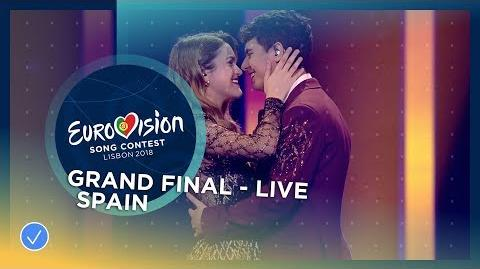 Amaia y Alfred - Tu Canción - Spain - LIVE - Grand Final - Eurovision 2018