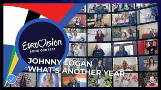Johnny Logan - What's Another Year (including choir of Eurovision fans) - Europe Shine A Light