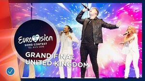 United Kingdom - LIVE - Michael Rice - Bigger Than Us - Grand Final - Eurovision 2019