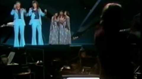 Eurovision 1975 Ireland - The Swarbriggs - That's what friends are for