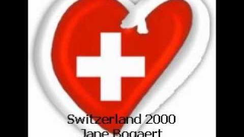 Eurovision Song Contest 2000 - Switzerland