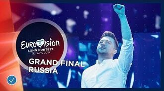Russia - LIVE - Sergey Lazarev - Scream - Grand Final - Eurovision 2019