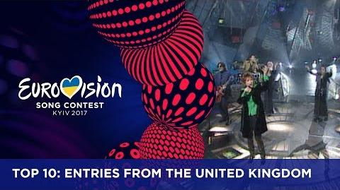 TOP 10- Entries from the United Kingdom