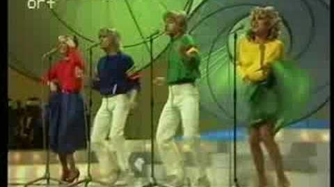 Eurovision 1981 - Bucks Fizz - Making your mind up