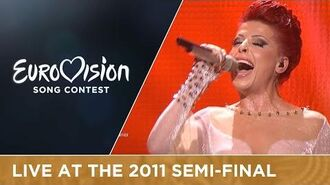Aurela Gaçe - Feel The Passion (Albania) Live 2011 Eurovision Song Contest