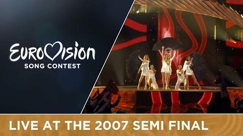 Sabrina - Dança Comigo (Vem Ser Feliz) (Portugal) Live 2007 Eurovision Song Contest