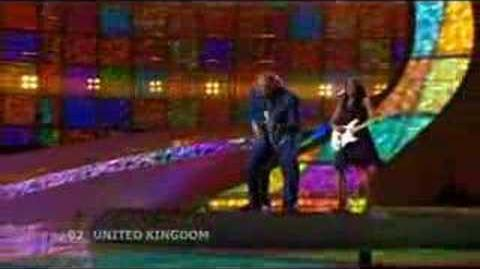 Eurovision 2008 Final - UK - Andy Abraham - Even If