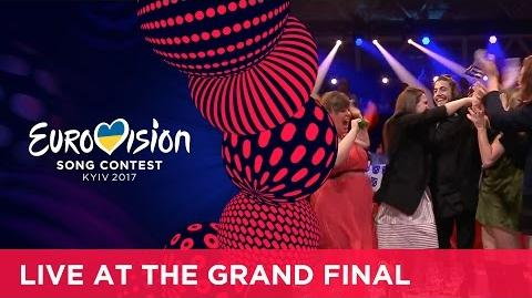 Salvador Sobral from Portugal wins the 2017 Eurovision Song Contest!