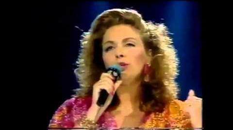 """15) FRANCE """"Les mots d'amour n'ont pas de dimanche"""" Christine Minier -Eurovision 1987- Final-"""