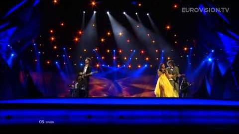 ESDM - Contigo Hasta El Final (With You Until The End) (Spain) - LIVE - 2013 Grand Final