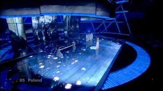 Eurovision 2009 Semi Final 2 05 Poland *Lidia Kopania* *I Don't Wanna Leave* 16-9 HQ