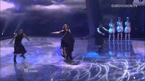 Nina Badric - Nebo - Live - 2012 Eurovision Song Contest Semi Final 2