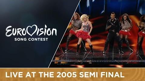 2B - Amar (Portugal) Live - Eurovision Song Contest 2005