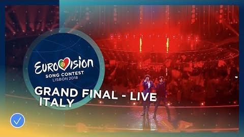 Ermal Meta e Fabrizio Moro - Non Mi Avete Fatto Niente - Italy - LIVE - Grand Final
