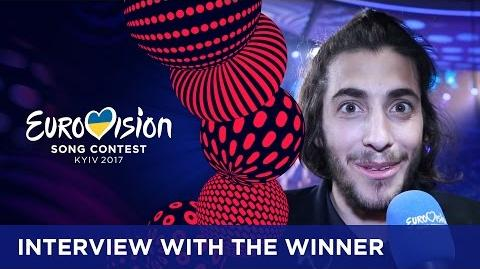 Interview with Salvador Sobral, the winner of the 2017 Eurovision Song Contest!