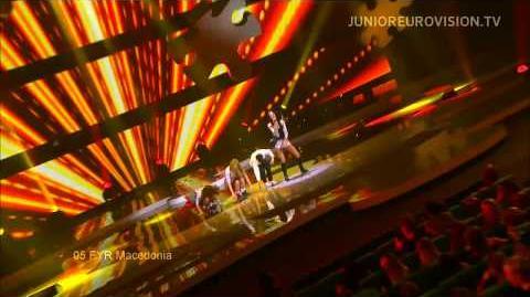 En vivo en Eurovisión Junior 2013