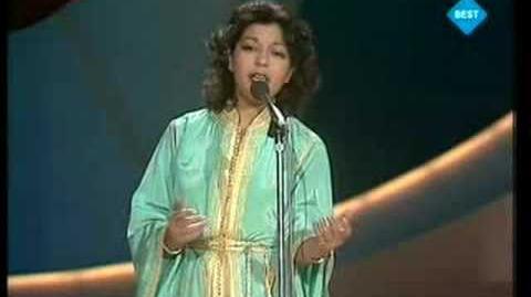 Eurovision 1980 - Samira - Bitaqat khub